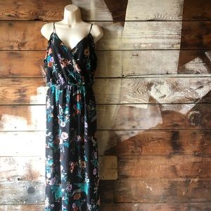 Nordstrom Do + Be Floral Wrap Dress Size Small